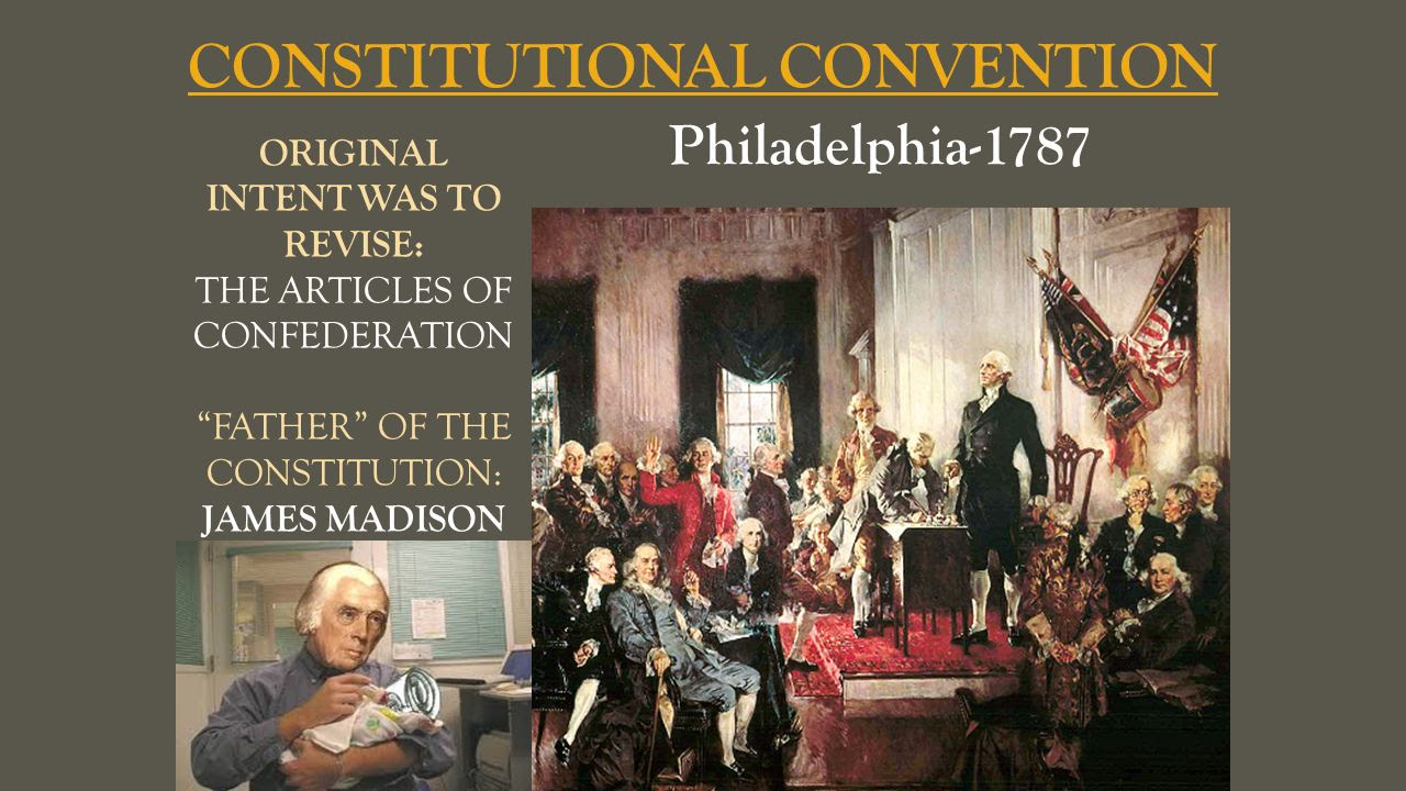an overview of the constitutional convention in 1787 in philadelphia The constitutional convention was a meeting held at independence hall in philadelphia between may 25, 1787, and september 17, 1787 there were 55.